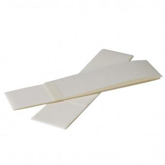 Fiberglas-Streifen weiß