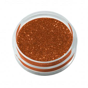 Glitterstaub Nr. 4 kupfer-orange 2,6 g