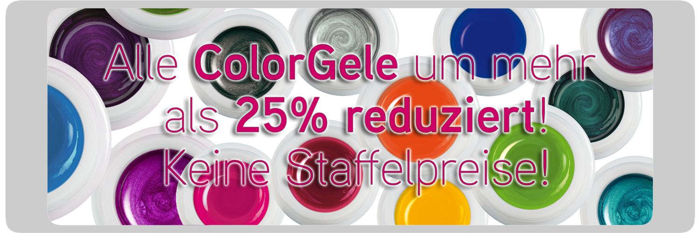 Über 25% Rabatt auf alle ColorGele